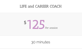 Life and Career Coaching - Single Session